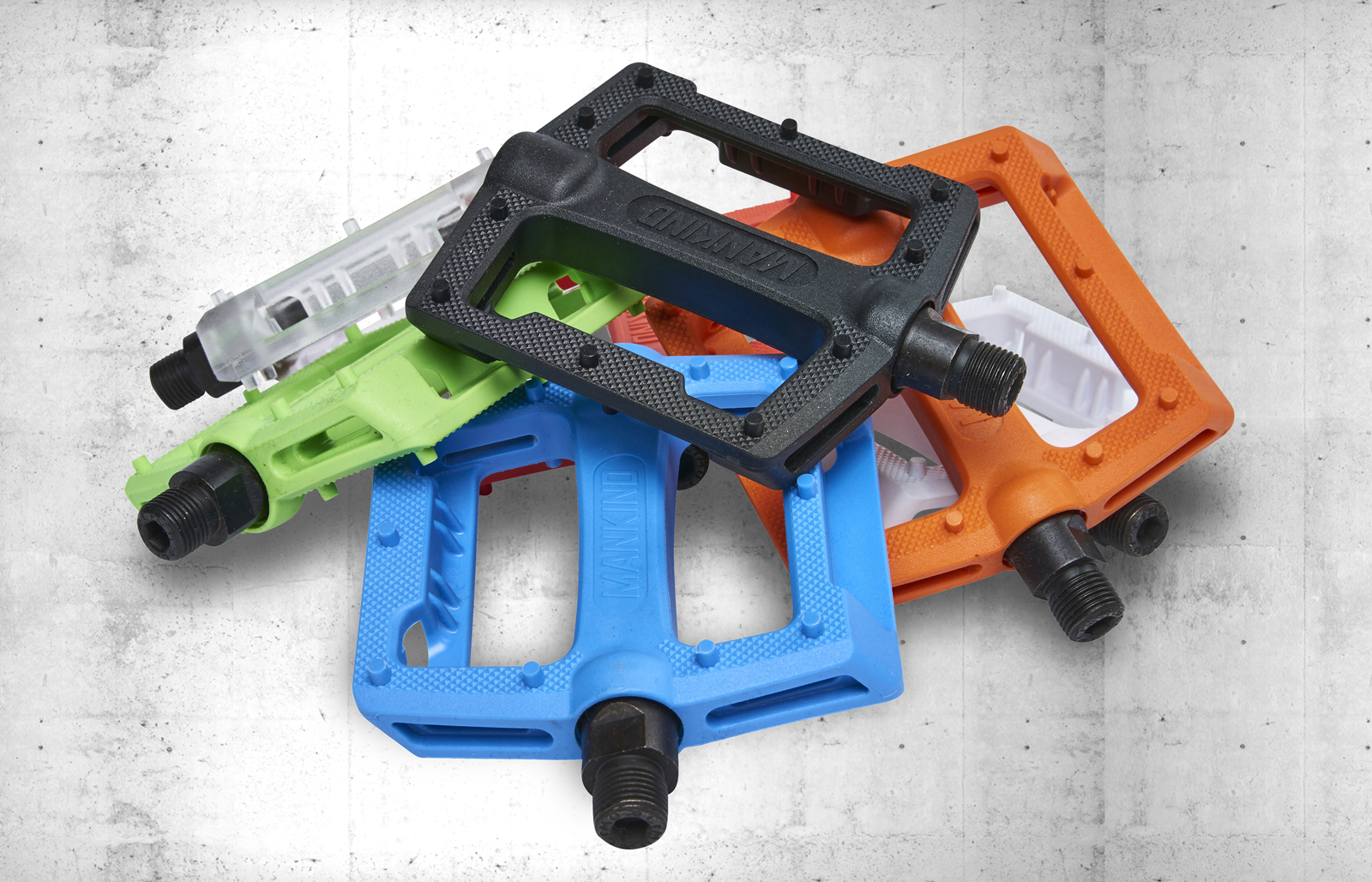 New Mankind Control Plastic Pedals out now!